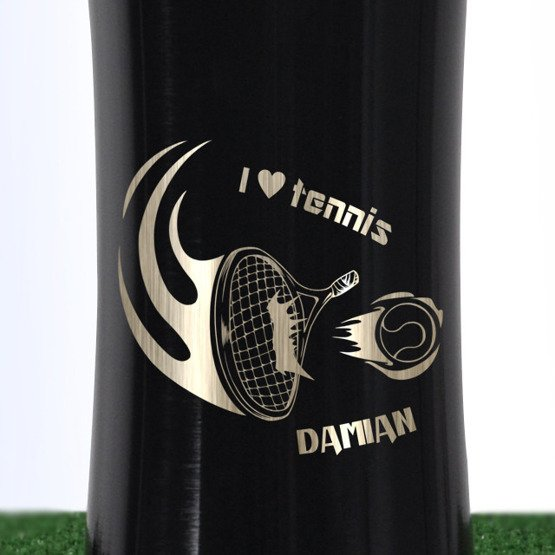 Bidon dla tenisisty