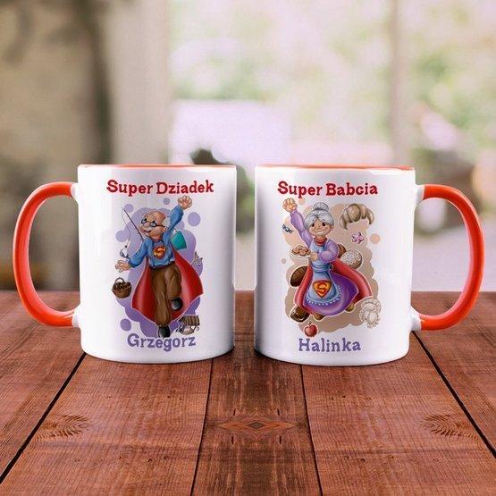 """Dwa kubki """"Super Dziadkowie"""""""