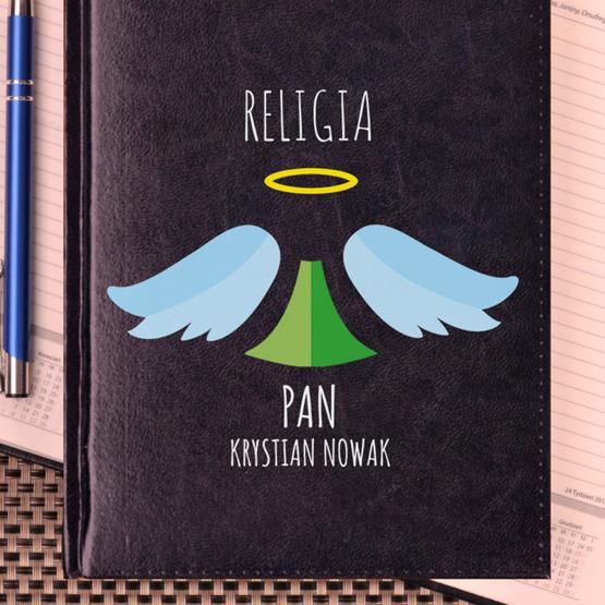 Kalendarz z nadrukiem dla nauczyciela - religia