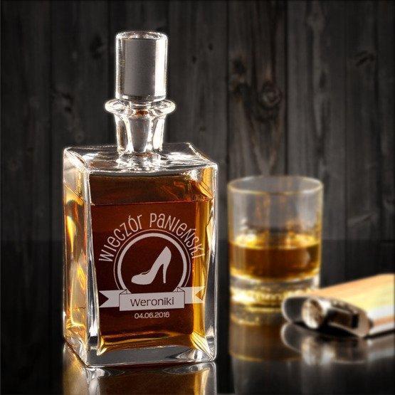 """Karafka do whisky """"Wieczór Panieński"""""""