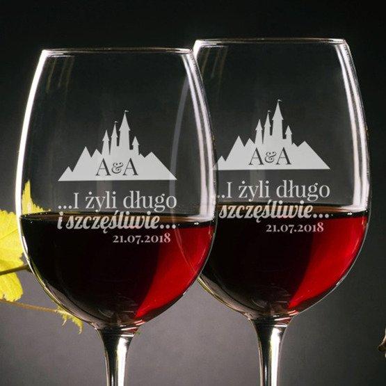 Kieliszki do wina - żyli długo...