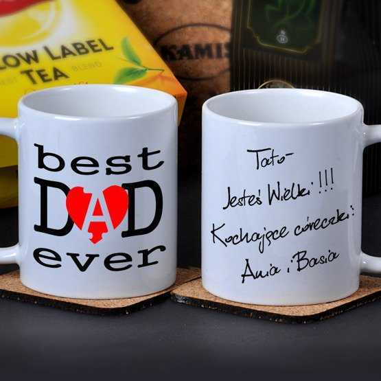 "Kubek dla Taty- ""best DAD ever"""