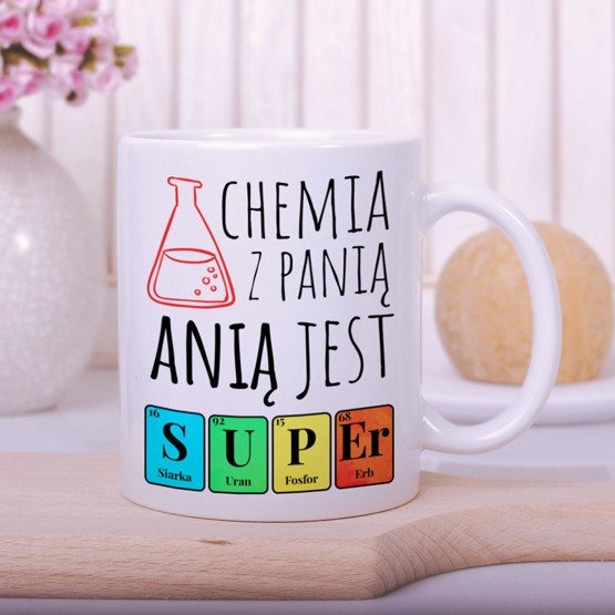 Kubek dla nauczyciela - Chemia