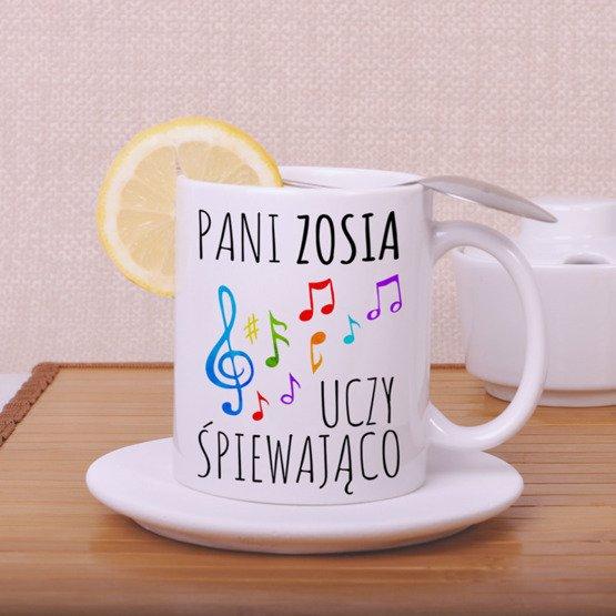 Kubek dla nauczyciela - Muzyka