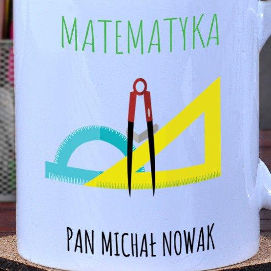 Kubek dla nauczyciela matematyki