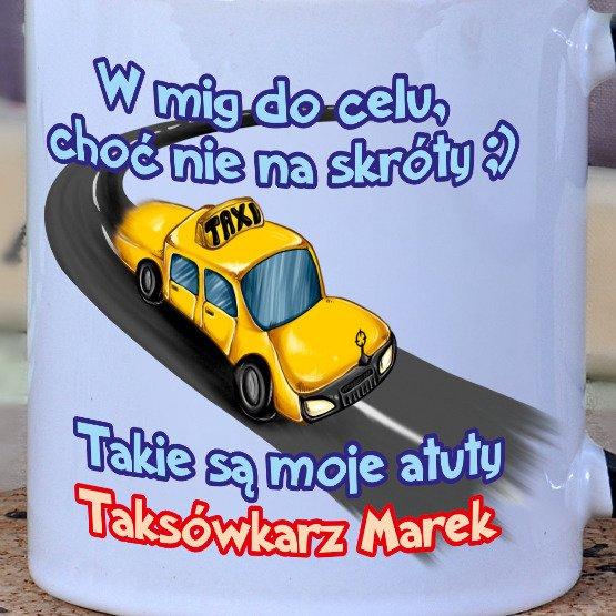 Kubek dla taksówkarza