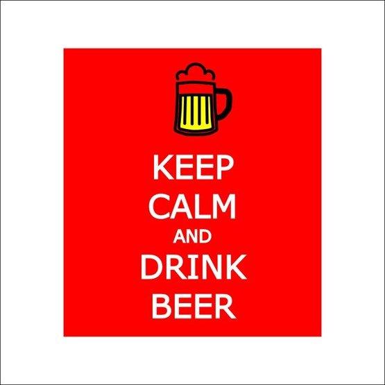 Kufel Keep Calm and Drink Beer