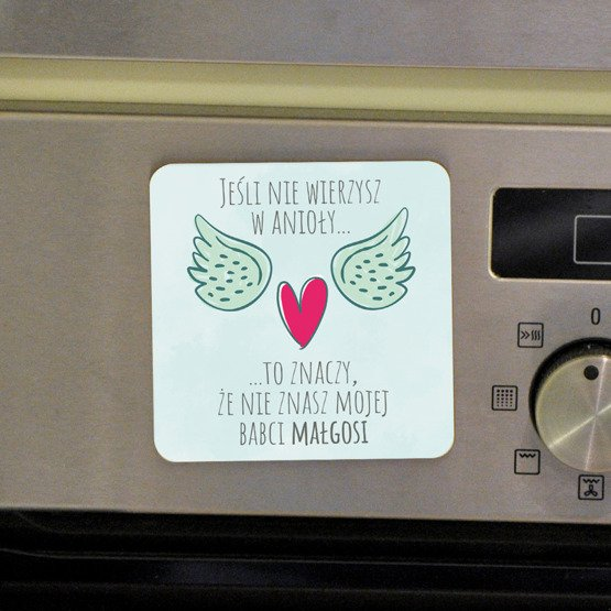 "Magnes na lodówkę- ""Babcia- anioł"""