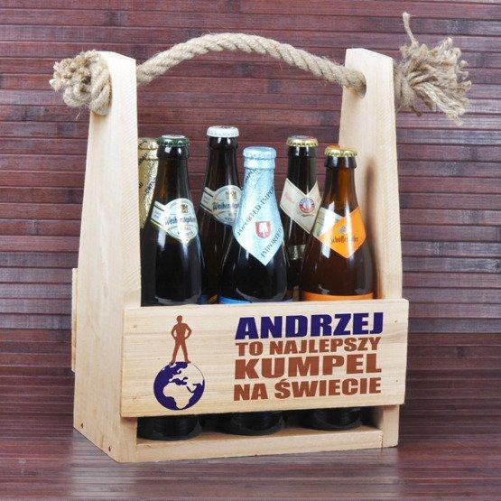 """Nosidełko na piwo """"Najlepszy na Świecie"""""""