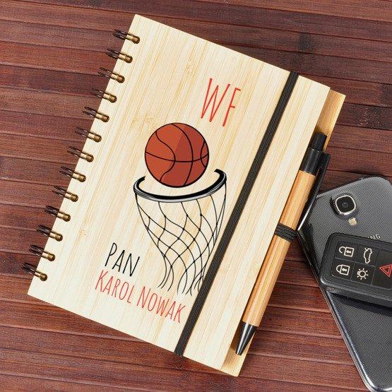 Notes bambusowy dla nauczyciela WF-u