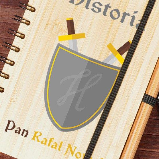 Notes bambusowy dla nauczyciela historii