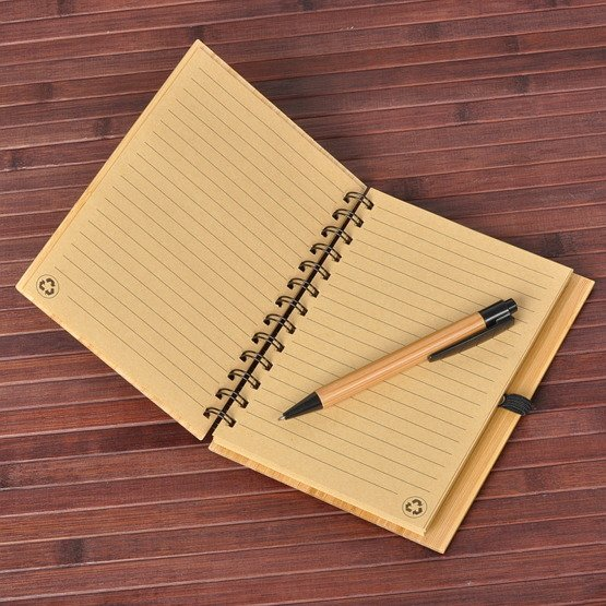 Notes bambusowy na Dzień Nauczyciela