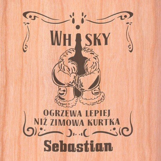 "Piersiówka- ""Whisky"""
