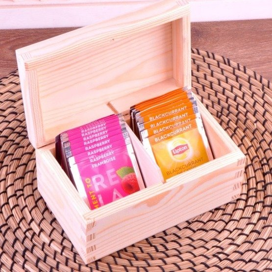 Pudełko z herbatą Lipton - Kocham Cię