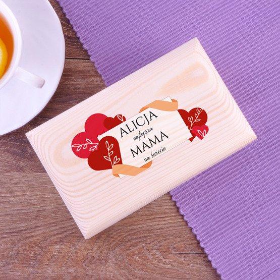 Pudełko z herbatą Lipton - Najlepsza mama