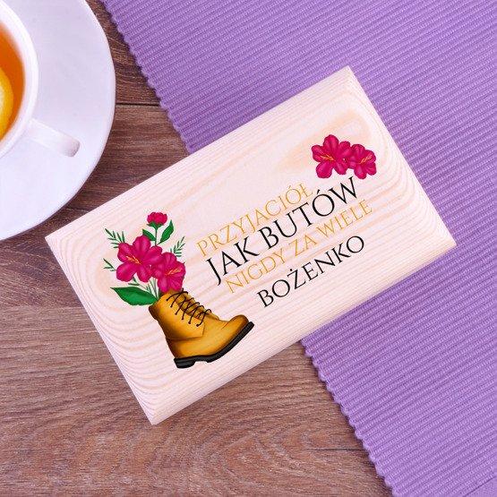 Pudełko z herbatą Lipton - Przyjaciele