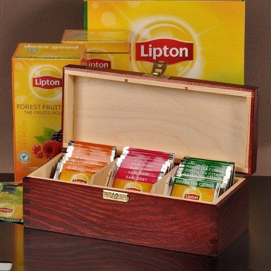 "Pudełko z herbatą, na ślub- ""Garbus"""