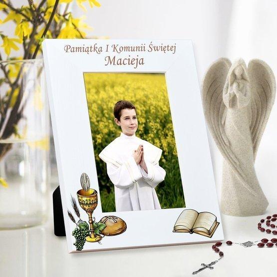 Ramka na zdjęcie- Pamiątka I Komunii Świętej