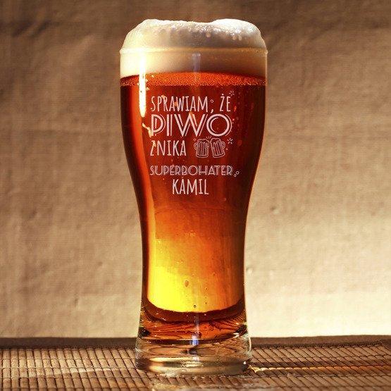 Szklanka do piwa - Superbohater