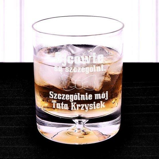 Szklanka do whisky - Szczególny Tata - prezent dla ojca