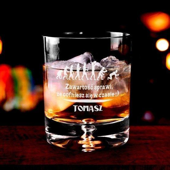 Szklanka do whisky - Wehikuł czasu