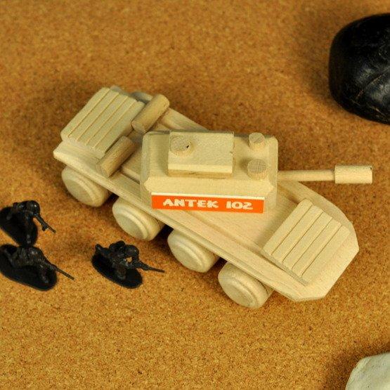 Zabawka drewniana- Czołg