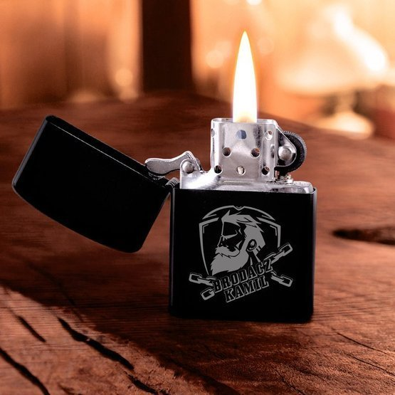 Zapalniczka benzynowa dla brodacza