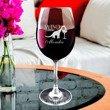 Kieliszek do wina z iminiem - winozaur